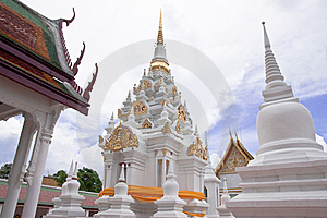The Famous Pagoda In South Of Thailand Royalty Free Stock Photography - Image: 8657647