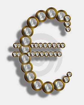 Euro Sign Stock Image - Image: 8657651
