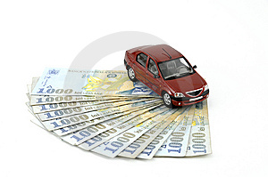 Car And Money Stock Images - Image: 8657714