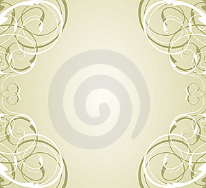 Floral Frame For Text Royalty Free Stock Photography - Image: 8657757