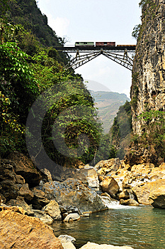 Railway Bridge Stock Images - Image: 8657764