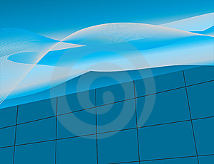 Abstract Background With Blue Shades Royalty Free Stock Photos - Image: 8657798