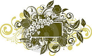 Floral Abstract Background. Stock Photography - Image: 8657892