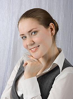 Smiling Girl #2 Royalty Free Stock Photography - Image: 8658007