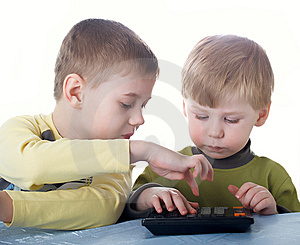 Portrait Of Two Boys Royalty Free Stock Photos - Image: 8658158