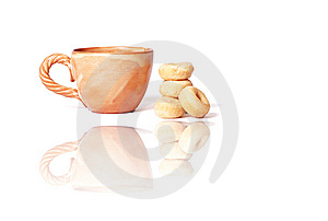 Cup Of Green Tea Royalty Free Stock Images - Image: 8658289