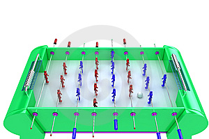Table Football Royalty Free Stock Photo - Image: 8658315