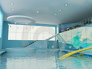 Interior Of Pool Royalty Free Stock Photography - Image: 8658547