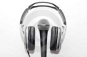 микрофон наушников Стоковые Фотографии RF - изображение: 8659198