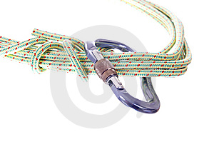Climbing Rope Stock Images - Image: 8659234