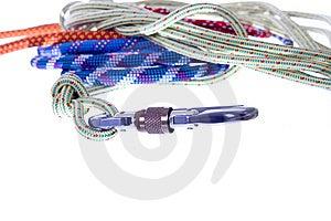 Climbing Rope Royalty Free Stock Image - Image: 8659286