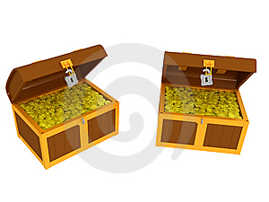 Treasure Chest Royalty Free Stock Images - Image: 8659359