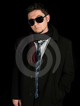 Young Men Coat Royalty Free Stock Images - Image: 8659449