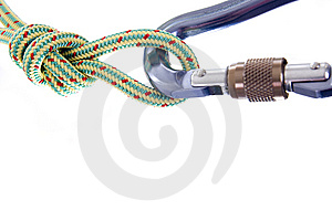 взбираясь веревочка Стоковое Изображение RF - изображение: 8659466