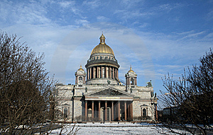 Isaakievsky Cathedral Royalty Free Stock Images - Image: 8659619