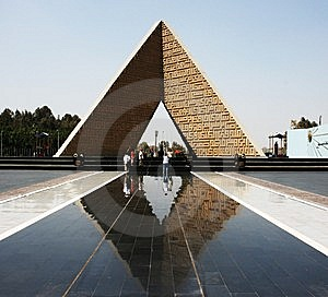 The Egyptian Monument Royalty Free Stock Image - Image: 8659756