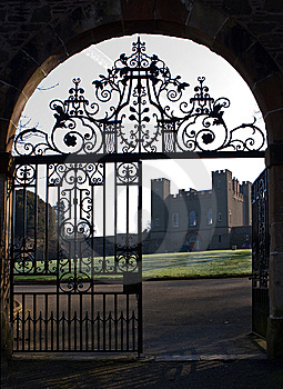 Fortress And Gates Royalty Free Stock Image - Image: 8659766