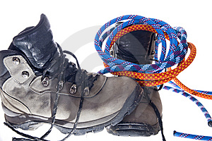 Hiking Gear Royalty Free Stock Photo - Image: 8659775