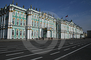 The View Of Hermitage Museum Royalty Free Stock Photo - Image: 8659975