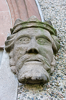 Stone Head Of A King Stock Images - Image: 8660024