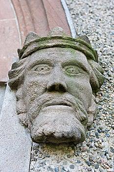 головной камень короля Стоковые Изображения - изображение: 8660024