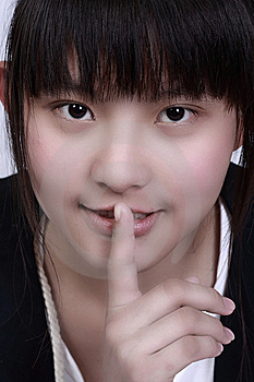 Asian Female Teenager Stock Photo - Image: 8660500