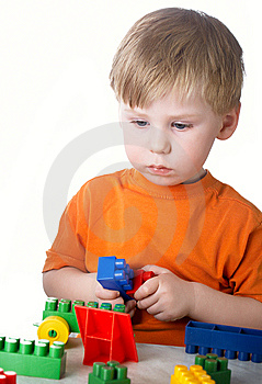 Boy Plays Stock Photos - Image: 8660813