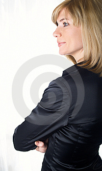 Portrait Of The Young Beautiful Businesswoman Royalty Free Stock Photos - Image: 8660998