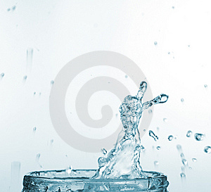 Splash Of Water Stock Image - Image: 8661191