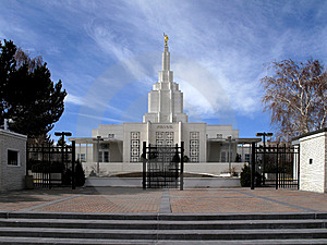 Mormon Temple Stock Images - Image: 8661314
