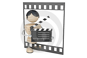 Film Industry, Conception Royalty Free Stock Photo - Image: 8661605