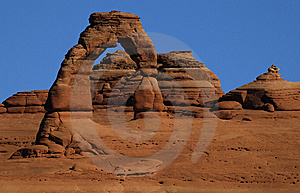 Delicate Arch Stock Image - Image: 8661671