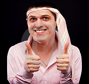 Funny Man Royalty Free Stock Photos - Image: 8662088