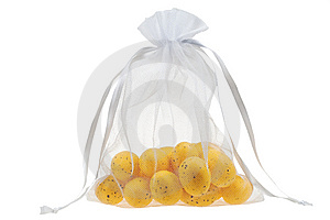 Bag Of Eggs Isolated Stock Photos - Image: 8662233