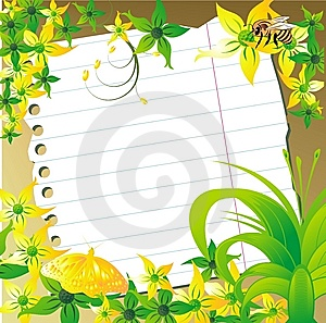 Sheet For Record Royalty Free Stock Photo - Image: 8662415