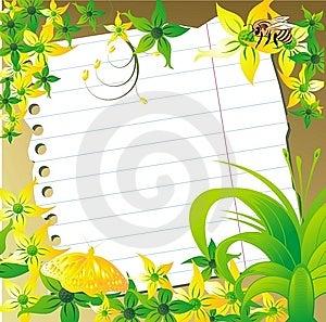 Strato Per L'annotazione Fotografia Stock Libera da Diritti - Immagine: 8662415