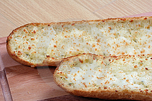 Garlic Bread And Tomatoes Stock Image - Image: 8662501