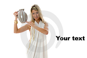Keeps A Jug. Ancient Greek Concept. Stock Photography - Image: 8662502