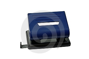 Hole-puncher Royalty Free Stock Image - Image: 8662556