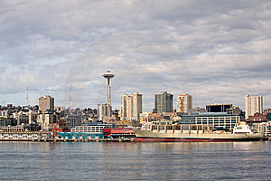 Seattle's Pier 59 Waterfront Royalty Free Stock Photo - Image: 8662855