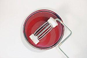 Rullo Di Pittura Immagini Stock - Immagine: 8662924