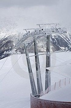 Elevatorn Skidar Arkivbild - Bild: 8663002