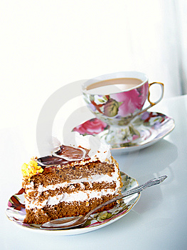 Chocolate Cake Royalty Free Stock Photos - Image: 8663108