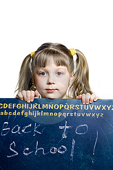 Schoolgirl Royalty Free Stock Photo - Image: 8663215