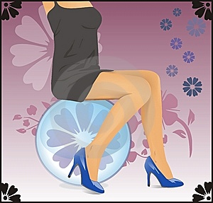 Woman's Legs Royalty Free Stock Images - Image: 8663219