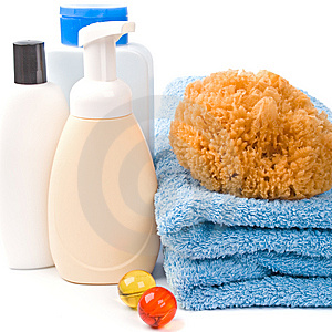 Body Care Products Stock Image - Image: 8663691