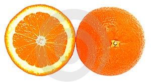 Fresh Oranges Royalty Free Stock Photography - Image: 8663807