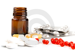 Different Pills Royalty Free Stock Photos - Image: 8663818
