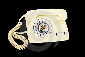 Rotary Phone Stock Photography - Image: 8664072