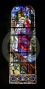 Church Stained Window Royalty Free Stock Image - Image: 8664246